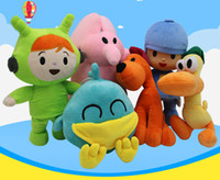 Wholesale pocoyo gifts for sale - Group buy Pocoyo Series Plush Toys Yoyo Pato Loula Stuffed Animals Doll Classic Baby Kids Soft Cute Gift For Boys And Girls