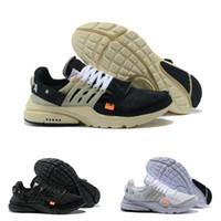 chaussures de badminton pour femmes achat en gros de-2019 Nouvelles chaussures de course Presto V2 BR QS Noir Blanc X