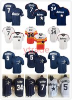 Wholesale Mens Stitched Throwback Craig Biggio Houston Knit jersey Astro Nolan Ryan Jeff Bagwell Vintage Jerseys