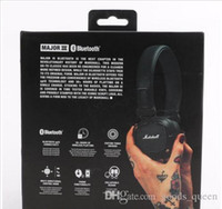 Wholesale good kit motorcycles for sale - Group buy Hot Sale Marshall Bluetooth Car Kit Motorcycles Car Wireless Bluetooth Headset Stereo Good Sound Wireless Bluetooth Earphone