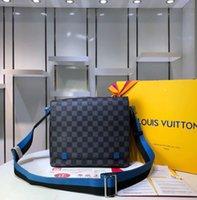 ingrosso cartella di business di progettazione-Valigetta da uomo New Classic luxary Business Uomo Borse a spalla Casual in vera pelle Mens Bag Design Top Quality Man Bag G20148