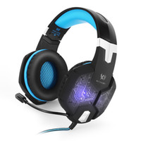 Wholesale new products computers for sale - Group buy New G1000 computer headset PS4 sports gaming headset wired LED lighting subwoofer wire headphones New Product