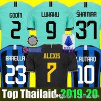 ingrosso maglie terzo-INTER MILAN third 19 20 Thailandia LUKAKU ICARDI LAUTARO Martinez Inter Milan 2019 2020 maglia da calcio PERISIC NAINGGOLAN POLITANO EDER AMBROSIO maglia da calcio 18 19 kit