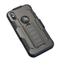 Wholesale impact armor online - For iPhone X S Plus Future Armor Impact Hybrid Hard Case Cover Belt Clip Kickstand Stand Combo