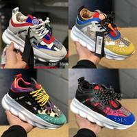 b4fb28a83 Wholesale sneakers shoes for sale - 2019 Chain Reaction Luxury Designer  Shoes Men Women Sneakers Snow