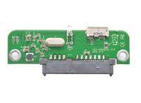 usb hdd kablolama toptan satış-HDD Durumda PCB Kurulu Için PCB Kurulu USB3.0 Kablosu SATA III SSD 2.5