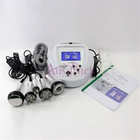 Wholesale professional rf facial machines for sale - Group buy top Professional K Cavitation Ultrasonic Machine vacuum RF lifting cellulite slimming radio frequency body facial anti wrinkle machine