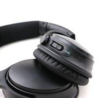 mühür için bluetooth toptan satış-QC35 Bluetooth Kablosuz Kulaklık DJ Kulaklık Derin Bas mühürlü perakende kutusu ile stereo ses kulaklık Kulaklık