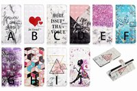 Wholesale 3d chinese cards for sale - Group buy 3D Leather Wallet Marble Heart Butterfly Holder Card Slot Flip Cover for Huawei P20 P30 MATE20 MATE PRO P20 P30 MATE20 MATE LITE