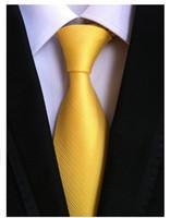 ingrosso cravatta nera gialla-2018 cravatte da uomo per uomo moda cravatta in poliestere poliestere cravatte nere cravatta nera cravatta cravatta gravata gialla hombre