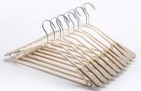 crochet de robes achat en gros de-Adulte Cintres Vêtements forts en plastique Cintres pour Tops / Jupes / Robes / pantalon Hanger Non-Slip Crochet 42cm
