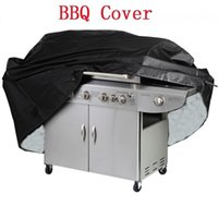Wholesale used bbq grills resale online - BBQ Cover Waterproof Protecter Grill Barbeque Garden Patio Party Anti Dust Barbecue Bag for multi use