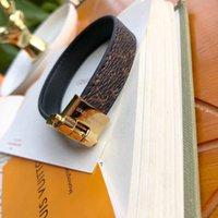 titanen schmuck großhandel-Echtes Lederarmband der Stahlfrauen des Titans 316L in 18cm und in 1.3cm Breite für die Frauen, die Schmuckgeschenk-Charme-Armband PS6297 wedding sind