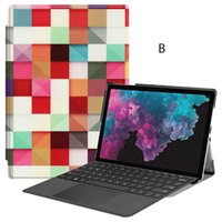 Wholesale microsoft surface pro covers resale online - Ultra Slim PU Leather Case Flip Cover with Pencil Slot for Microsoft Surface Pro Pro Pro Universal Tablet Stylus