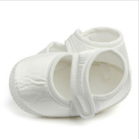 Wholesale comfortable shoes for hot summers resale online - Infant Baby Girls Shoes Casual Soft Sole Sneaker Crib White Shoes For month Comfortable High Quality Hot Selling Shoe