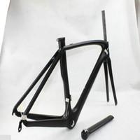 größe rennrad headset großhandel-Die neuesten Full-Carbon-Fahrrad Frameset OEM LOGO UD T1100 Radsport Rahmen 49/52/54/56/58 bb30 und PF 30 / bsa Fahrradrahmen in Taiwan hergestellt