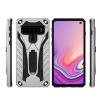Wholesale note mobile stand for sale - Group buy For Samsung Note8 S8 s8Plus S9 S9Plus Phantom Knight Mobile Phone Case With Stand in Anti drop Mobile Phone Case