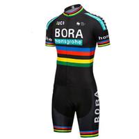 camiseta de ciclismo del equipo de saxo bank al por mayor-2019 pro team BORA aero Cycling skinsuit de una pieza de manga corta body de verano ropa de bicicleta MTB Ropa Ciclismo speeduit