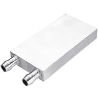 Wholesale cpu water block aluminum resale online - Aluminum Liquid Water Cooling Block for Computer Cpu Radiator for Pc and Laptop Cpu Silver Heat Sink System