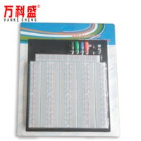 Wholesale bread board for sale - Group buy Solderless Breadboard Hole Bread Board Experimental Board Combination Bread Board Universal
