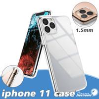 kristall für gehäuse telefon großhandel-Für iphone 11 case klar weich tpu gel case ultradünn für iphone xr xs max 8 plus samsung s10 s10e case huawei lg htc iphone 6 6s 7 7 plus