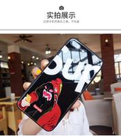 en iyi marka cep telefonları toptan satış-Toptan Lüks Sup Tasarımcı Telefon Kılıfları Temperli Cam Kapak iphone X XS XR Max 7 Artı 7 8 6 P 6SP 6 6 S Marka Sıcak Satış Cep Telefonu Kılıfları