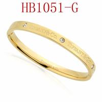 ingrosso braccialetti scorrevoli-T Braccialetto di marca per le donne Fashion High-end di qualità per i gioielli delle signore con oro rosa oro argento colore Drop Shipping