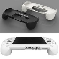 Wholesale game controller covers resale online - Hot sale Gamepad Hand Grip Joystick Protective Case Cover Stand Game Controller Handle Holder With L2 R2 Trigger For Sony PS Vita
