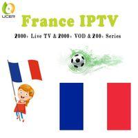 Wholesale iptv arabic 4k resale online - 2019 france iptv subscription french algerie Arabic IPTV m3u mag live vod channels for firestick k smart android tv box chromecast h96 max