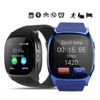 Wholesale smart watch t8 for sale – best T8 Bluetooth Camera Smart Watch Wristband Android Phone FM Smart Watch SIM Intelligent Mobile Phone Sleep State Sport Smart watches