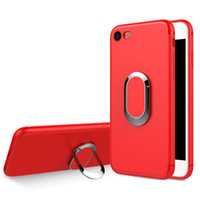 Wholesale suction phone stand for sale – best Hot Sales For iPhone sPlus TPU Case Car Holder Stand Magnetic Suction Bracket Finger Ring Cover Soft Phone Case For iPhone P SP