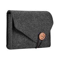 reißverschluss bank taschen großhandel-Neue Filztasche Energienbank Tasche Für Datenkabel Maus Reiseveranstalter Kosmetiktaschen Make-Up Taschen Für Frauen