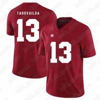 maillots de football américains achat en gros de-11 Maillot Dwayne Haskins Jr de la NCAA 7 97 Nick Bosa 13 Tua Tagovailoa Trevor Lawrence Maillots américains du Collège