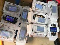 16 bit taşınabilir oyun konsolu toptan satış-PAP Gameta II El Oyun Konsolları Taşınabilir 64 Bit Retro Video Oyunları 16 GB Dahili Oyuncular Destek TV Çıkışı MP3 MP4 MP5 Kamera