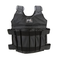 Wholesale weighted vests for sale - Group buy SUTEN kg kg Loading Weighted Vest Boxing Training Workout Gym Fitness Equipment Adjustable Waistcoat Jacket Sand Clothing