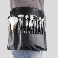 escova escova correias venda por atacado-Tamax nd016 por dhl 50 pçs / lote profissional cosméticos pincel de maquiagem PVC avental saco artista cinto cinta portátil compõem o saco