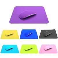 офисные коврики для мыши оптовых-Коврик для мыши Office Home Desk Pad Силиконовый Цвет Моющийся Творческий Мода нескользящей Компьютер Силиконовый Коврик Для Мыши