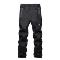 pantalons de snowboard achat en gros de-Pantalons de ski pour hommes et femmes Pantalons de ski chauds Coupe-vent Imperméable Neige Snowboard Plein air Randonnée Pantalon