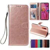 Wholesale y7 plus huawei for sale – best Wallet PU Flip Leather PhotoFrame Card Slot Case TPU Cover For Huawei P30 Pro Mate Y6 Y7 P Smart Plus P20 Lite Honor A Enjoy