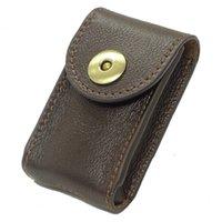 billetera de cuero para hombres al por mayor-Hombres de cuero genuino Cinturón Billetera Bolso de la cintura Paquete Paquete Llave del coche Unisex 1652C