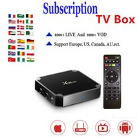 Wholesale youtube player mini resale online - X96 Mini With Subscription Live Amlogic S905W Android TV Box GB GB GB GB WIFI Media Player TX3 MINI X96 Air