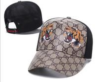 outdoor-hüte für frauen groihandel-2019 Snake Cap Tiger Snapback Baseball Caps Freizeit Hüte Biene Hysteresen Hüte Outdoor Golf Sport Hut Casquette für Männer Frauen