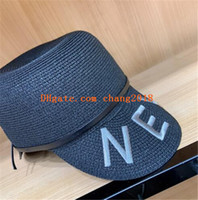 Wholesale beach cowboy straw hats men resale online - 2019 top qualty luxury designer hats caps fashion Snapback Baseball football Sport womens mens designer Hats caps for men women