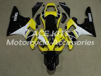 carenados violeta al por mayor-Carenados de motocicletas ACE para YAMAHA YZF1000 R1 2000-2001 Inyección Bodywor Una variedad de color No.4999