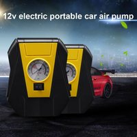 Wholesale inflatable tire pump car for sale - Group buy Electric Car Tire Inflator Pump V Portable Air Compressor Inflatable For Outdoor Emergency VS998