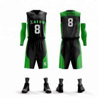 trikots setzt porzellan großhandel-China OEM Fabrik Benutzerdefinierte Basketball Trikots Portland Sport Design DIY Ihr eigenes College Team Shirt Männer Jugend Trikotsätze