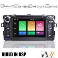 ingrosso usb mp3 bmw-7 IPS auto Android 10,0 Autoradio DVD GPS per Toyota Auris 2006 2007 2008 2009 2010 Navigation Vehicle 2011 Raido BT Wifi / 4G MAP DSP