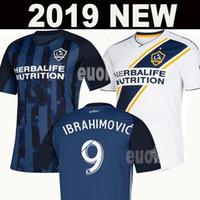 Wholesale la soccer resale online - NEW IBRAHIMOVIC LA Galaxy soccer jerseys Thailand Los Angeles Galaxy GIOVANI COLE ALESSANDRINI CORONA football kit top shirts