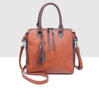 Wholesale korean handbags for women resale online - Designer Bags for Women The New Korean version Shell Handbags Tassel Big Bags Sling for Female Simple Messenger tote