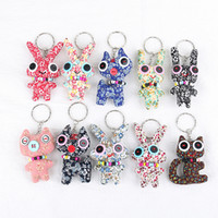 Wholesale pet toys for girls for sale - MGA Button Doll KeyChain Phone Accessories Plush doll toys For Key Ring Colorful Cute Stuffed Pet lol